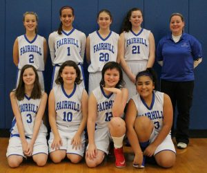 IAA Basketball girls 2016