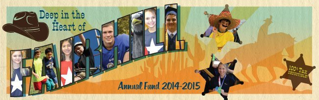 Fairhill Annual Fund banner