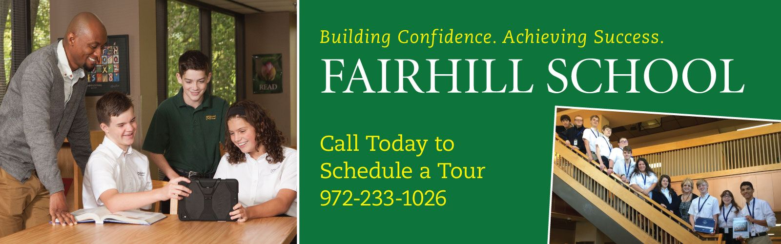 Tour the Fairhill School Today